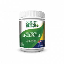 Quality Health High Strength Magnesium 100s
