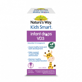 Nature's Way Kids Smart Infant Drops VD3 10mL