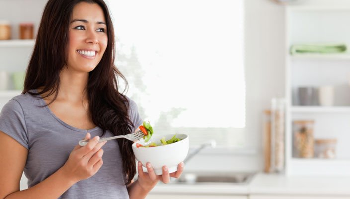 How your diet can improve the health of your hair