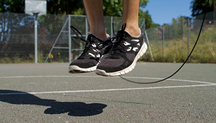 Jump into fitness with skipping
