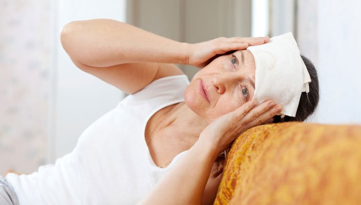 Manage menopause stress