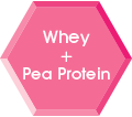Whey and Pea Protein